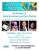 Jazz in July Poster 2